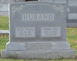 Dorris <i>Toon</i> Huband