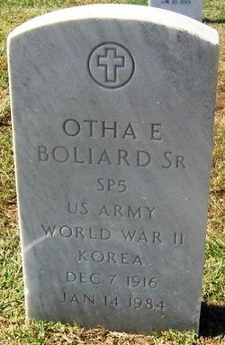 Otha Eugene Boliard, Sr