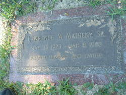 Lawrence Merrill Matheny, Sr