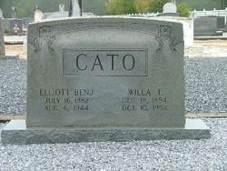 Willa Tabitha <i>Sawyer</i> Cato