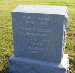 Mary Frances <i>Thompson</i> Adams