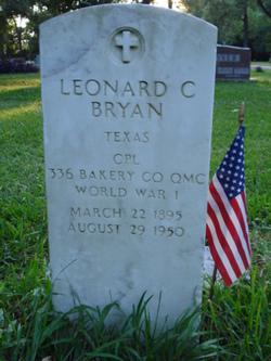 Leonard C Bryan