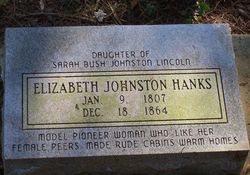 Elizabeth <i>Johnston</i> Hanks