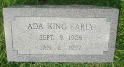 Ada <i>King</i> Early