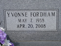 Yvonne <i>Fordham</i> Burnsed