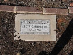 Leota G Andrews