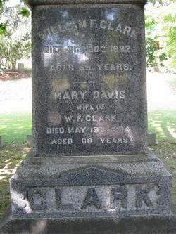 Mary <i>Davis</i> Clark