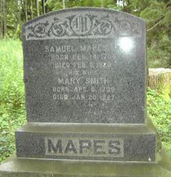 Mary <i>Smith</i> Mapes