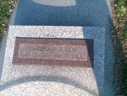 Harold F. Kirch