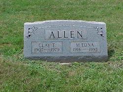 Mary Edna <i>Hawkins</i> Allen