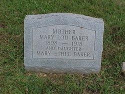 Mary Lou <i>Brumback</i> Baker