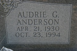Audrie G Anderson