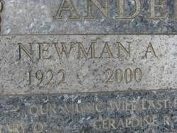 Newman Allen Anderson