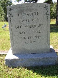 Elizabeth Lizzie <i>Benton</i> Barger