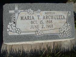 Maria T. Archuleta