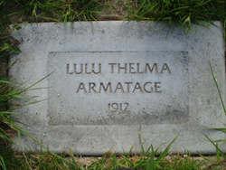 Lula Thelma Armatage