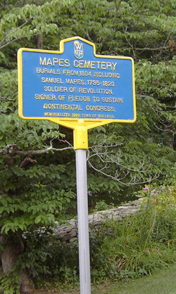 Mapes Cemetery