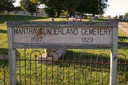 Martha Sunderland Cemetery