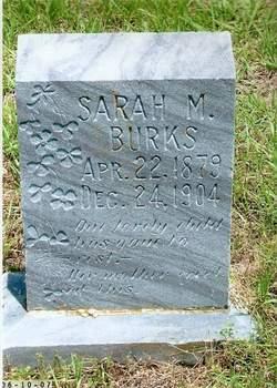 Sarah Marie <i>Tarpley</i> Burks