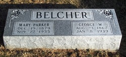 Mary <i>Parker</i> Belcher