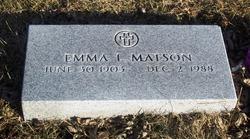 Emma L. Matson