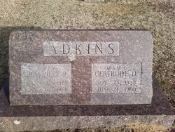 Gertrude M <i>Dollar</i> Adkins