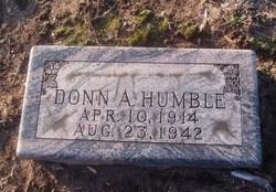 Donn A Humble