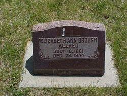 Elizabeth Ann <i>Brough</i> Allred
