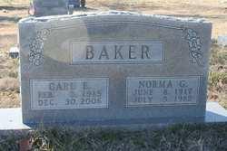 Norma G Baker