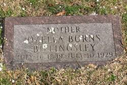 Ozella <i>Burns</i> Billingsley