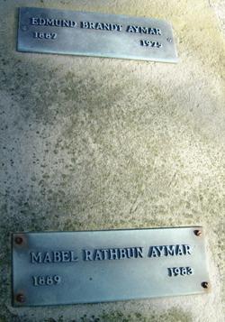 Mabel <i>Rathbun</i> Aymar