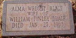 Alma <i>Wright</i> Blair
