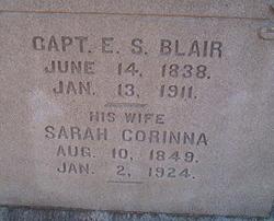 Capt Elijah Steele Blair