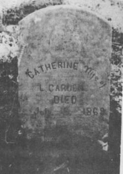 Catherine <i>Simpson</i> Carden