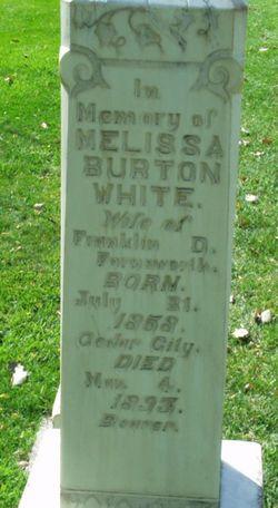 Melissa Burton <i>White</i> Farnsworth