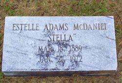 Lula Estelle <i>Adams</i> McDaniel