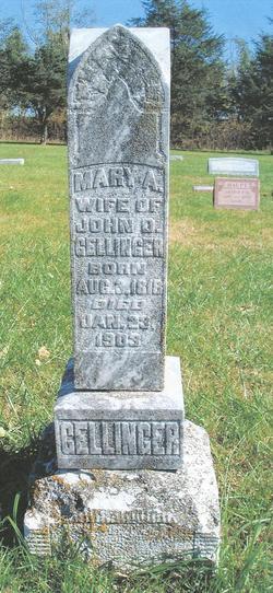 Mary A. <i>Roush</i> Gellinger