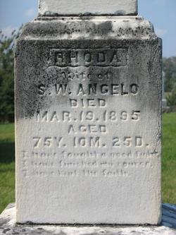 Rhoda <i>Burwell</i> Angelo