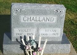 Violet Fern <i>Stoner</i> Challand