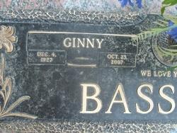 Virginia Lee Ginny <i>Marshall</i> Bassham