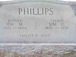 Ida May <i>Griffith</i> Phillips