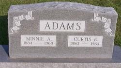 Minnie Adeline Addie <i>Cole</i> Adams