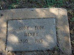 Sela Azubah Zuby <i>Eoff</i> Henry