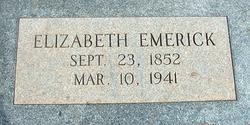 Elizabeth <i>Tankersley</i> Emerick