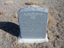 Mary Catherine <i>Greer</i> Creamer