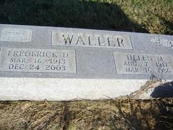 Frederick Douglas Fred Waller