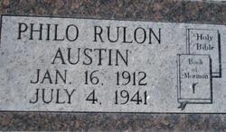 Philo Rulon Austin