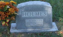 Calvin Lee Holmes