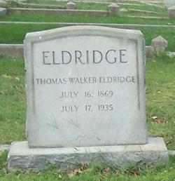 Thomas Walker Eldridge