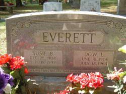 Susie Bell <i>Hancock</i> Everett